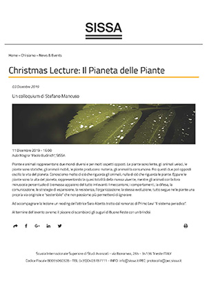 mancuso - christmas lecture